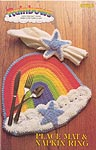Rainbows: Place Mat & Napking Ring