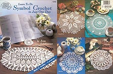 ASN Learn to do Symbol Crochet in Just One Day, Book 1: Doilies