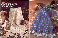 Annie's Crochet Quilt & Afghan Club, Ring Around the Rosy