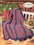 The Needlecraft Shop Afghan Collector Series: Radiant Ripples