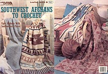 Leisure Arts Southwest Afghans to Crochet