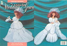 HWB Crochet Fashion Doll Wedding Dress