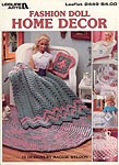 Fashion Doll Home Decor, by Leisure Arts
