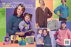 Annie's Attic Easy Tunisian Crochet: Weekend Sweaters
