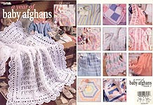 LA A Year of Baby Afghans, Book 2