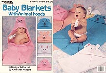 LA Baby Blankets with Animal Hoods