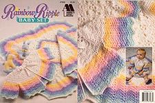 Annie's Attic Rainbow Ripple Baby Set