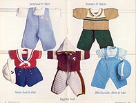 Annie's Attic Baby Boy Outfits