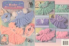 Annie's Attic All Frills No Spills Baby Dresses & Bibs