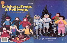 Crickets, Frogs, & Polliwogs for soft-sculptured dolls