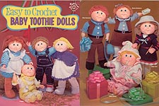 Easy to Crochet Baby Toothie Dolls