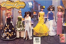 Annie's Attic Crochet Fashion Doll Evening Gowns