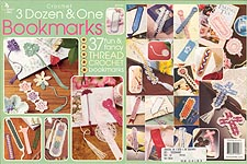 Annie's Attic Crochet 3 Dozen & One Bookmarks