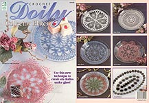 HWB Crochet Doily Collector Plates