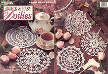 Leisure Arts Quick & Easy Doilies