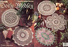 Leisure Arts Doily Medley