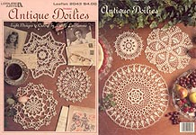 Leisure Arts Antique Doilies