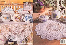 Leisure Arts Tea Time Doilies
