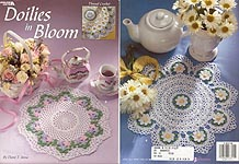Leisure Arts Doilies in Bloom
