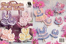 Annie's Attic Crochet Clothespin Angel Twins
