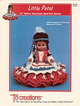 Little Petal, Native American Crochet Series, by Td creations, inc. for 13 inch doll