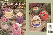Annie's Attic Bathroom Blossoms Toilet Tissue Toppers