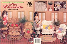 Fashion Doll Home Decor Crochet Collectors' Guild: The Veranda