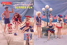 Annie Potter Presents Fashion Doll Star Spangled Summer Fun