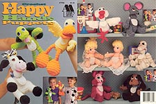 Annie's Attic Crochet Happy Hands Puppets