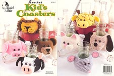 Annie's Attic Crochet Kids' Coasters