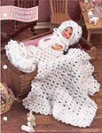 Annie's Fashion Doll Crochet Club: Christening Ensemble