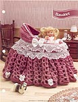 Annies Fashion Doll Crochet Club: Bassinet