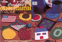 LA Crocheted Country Coasters