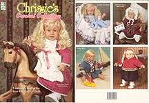 HWB Chrissie's Crochet Collection outfits for 22 inch baby dolls.
