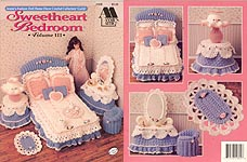 Fashion Doll Home Decor Crochet Collectors' Guild: Sweetheart Bedroom