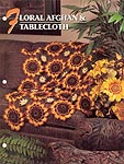Annie's Crochet Quilt & Afghan Club, Floral Afghan & Table Cloth
