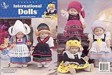 Annie's Attic Crochet International Dolls