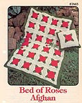 Annie's Attic Bed of Roses Afghan