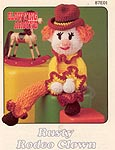 Annie's Attic Clowning Around: Rusty Rodeo Clown