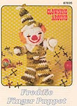 Annie's Attic Clowning Around: Freddie Finger Puppet