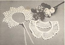 Mary Thomas: Crocheted Lace Collars