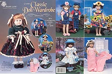 Shady Lane Classic Doll Wardrobe, Volume One for 15 inch craft dolls