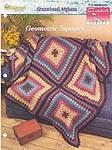 The Needlecraft Shop Crochet Collector Series: Geometric Squares Afghan