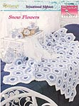 The Needlecraft Shop Crochet Collector Series: Snow Flowers Afghan