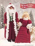 Annie's Fashion Doll Crochet Club: Old World Santa & Mrs. Claus