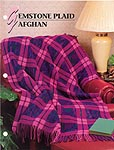Annie's Crochet Quilt & Afghan Club, Gemstone Plaid Afghan