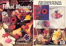 LA Floral Magnets to Crochet