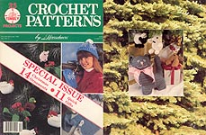 Crochet Patterns by Herrschners magazine, November / December 1990