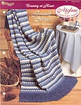 The Needlecraft Shop Afghan Collector Series: Frosted Stripes