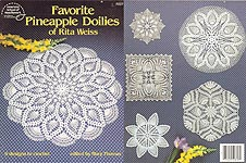 ASN Favorite Pineapple Doilies of Rita Weiss